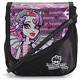 Bolsa feminina infantil monster high rochelle 63673 bolsinha