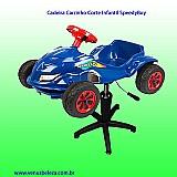 Cadeira carrinho corte infantil speedboy