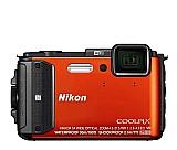 Camera nikon coolpix aw130 á prova dagua   cartao 32 gb
