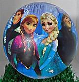 Bola de vinil varios personagens-mickey-frozen-minions-minie
