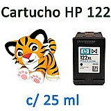Cartucho hp deskjet 1000,  2000,  2050,  3050 (com 25 ml tinta)