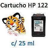 Cartucho hp deskjet 1000,  2000,  2050,  3050 (com 25 ml tinta)
