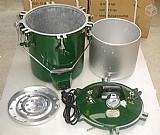 Panela industrial alta pressao 13kgs para compotas