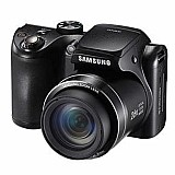 Camera samsung wb100 p-c/lcd 3, 0, 16.2mp-brinde cartao 8gb