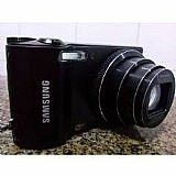 Smart camera digital samsung wb150f c/ wi-fi a. rede social