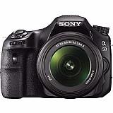 Camera profissional sony alpha a58 inclina 18- 55mm