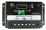 Controlador de carga painel placa solar 12v 20a