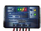 Controlador de carga 12~24 v,  40 a pwm paineis solares