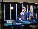 Tv lcd sint. digital,  entrada lan,  40 tela ruim.para reparo