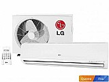 Ar-condicionado split lg 24000 btus quente/frio - filtro 3m smile ts-h2425nw1 220 volts