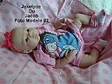 Boneca bebe reborn jakelyne ou jacob parece um bebe de verdade
