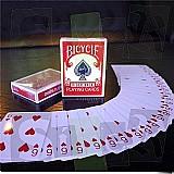 Cartas iguais - baralho magico - com video - magica