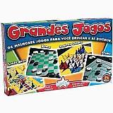 Grandes jogos big star 4 em1 tabuleiro dama ludo trilha xadr