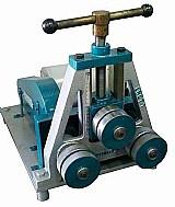 Calandra de tubos e perfis - lrct-1 - lr maquinas