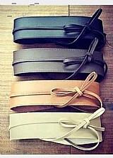 Cinto faixa couro varias cores,  promocao