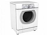 Secadora de roupas brastemp 10kg ative! bsr10ab - com 12 programas de secagem e porta reversivel 110 volts