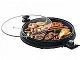 Grill cadence grl297 redondo 1200w - placa removivel 110 volts