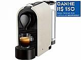 Cafeteira espresso 19 bar nespresso u - pure cream 110 volts
