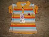 Camiseta polo bebe feminina - importada