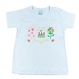 Camiseta feminina com passaro bordado malwee albarella