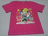 Camiseta infantil feminina manga curta nº 6