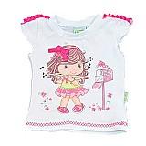 Camiseta feminina menina flauta - tileesul albarella
