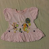 Blusinha bebe feminino
