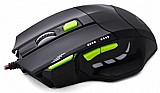 Mouse gamer fire button fio nylon 2400 dpi multilaser mo208