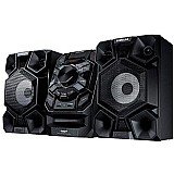 Mini system samsung 200w rms radio am/fm,  usb - mx-j640