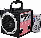 Caixa de som portatil yy 02 mp3 entrada usb pen drive radioo