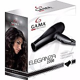 Secador de cabelos 2200w profissional gama ar frio 220v