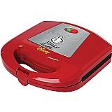 Sanduicheira eletrica disney mickey vermelha 110v