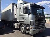 Scania r124 420 6x2 ano 2005/2005 (prata zero!!!)