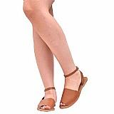 Sandalia feminina avarca rasteira rasteirinha gladiadora 225