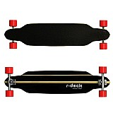 Skate longboard 40 pol abec 15 truck invert rodas speed
