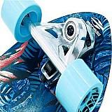 Skate carver mormaii azul simulador de surf long swingboard
