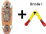 Skate longboard carver swingboard mormaii surf- frete gratis