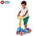 Patinete brinquedo infantil 4 rodas mini scooty boy menino