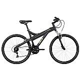Bicicleta aro 26 caloi andes 21 marchas preto fosco - caloi