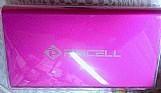 Carregador portatil 10000mah 4x para lg l5 e615 rosa
