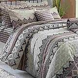 Jogo cama de casal 5 pecas realce premium sultan