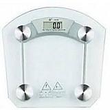 Balanca digital vidro temperado 180kg banheiro academia