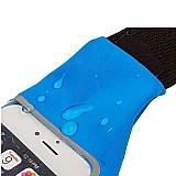 Pochete fitness corrida porta celular ate 6 pol impermeavel