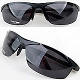 Óculos de sol polarizado police 100% uva/uvb masculino preto