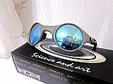 Óculos mars medusa metal ice azul polarizada frete gratis