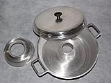Forma da vovo para fazer bolo no fogao em aluminio fundido