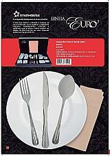 Kit 12 colheres de mesa - starhouse - euro