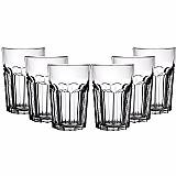 Conjunto de copos de vidro modern 500ml 6 pecas - mor - copo