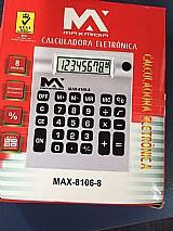10 calculadora eletronica 8 digitos max-8106-8 atacado