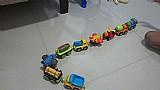 Kit de trens e carros da vtchet com ima
